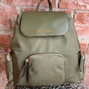 Michael kors large cargo backpack nylon leather